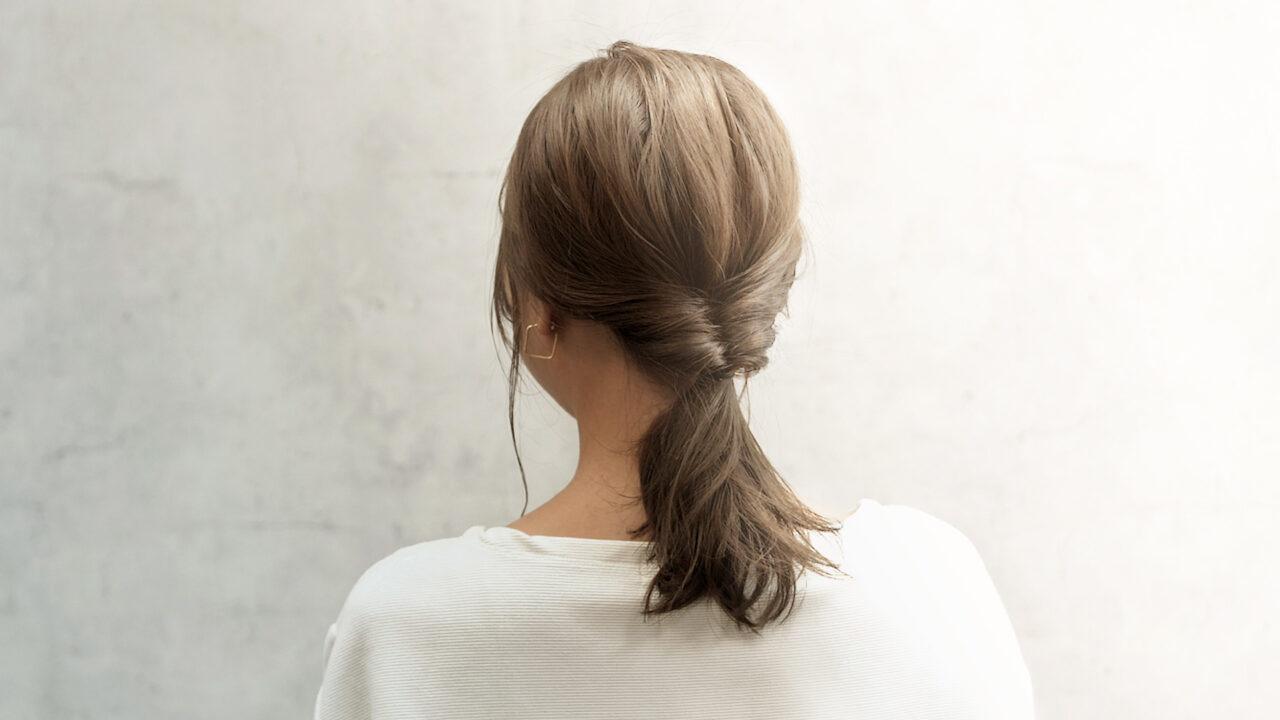 くるりんぱの基本ヘアアレンジ方法?ミディアムがよりかわいくなる初心者向けの髪技