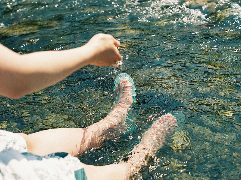 夏:清涼感を感じたくなるチュルンな季節