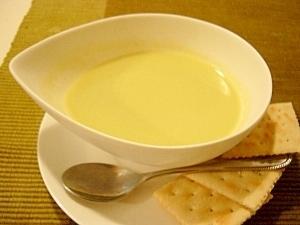 爽やかアスパラガスの冷製スープ