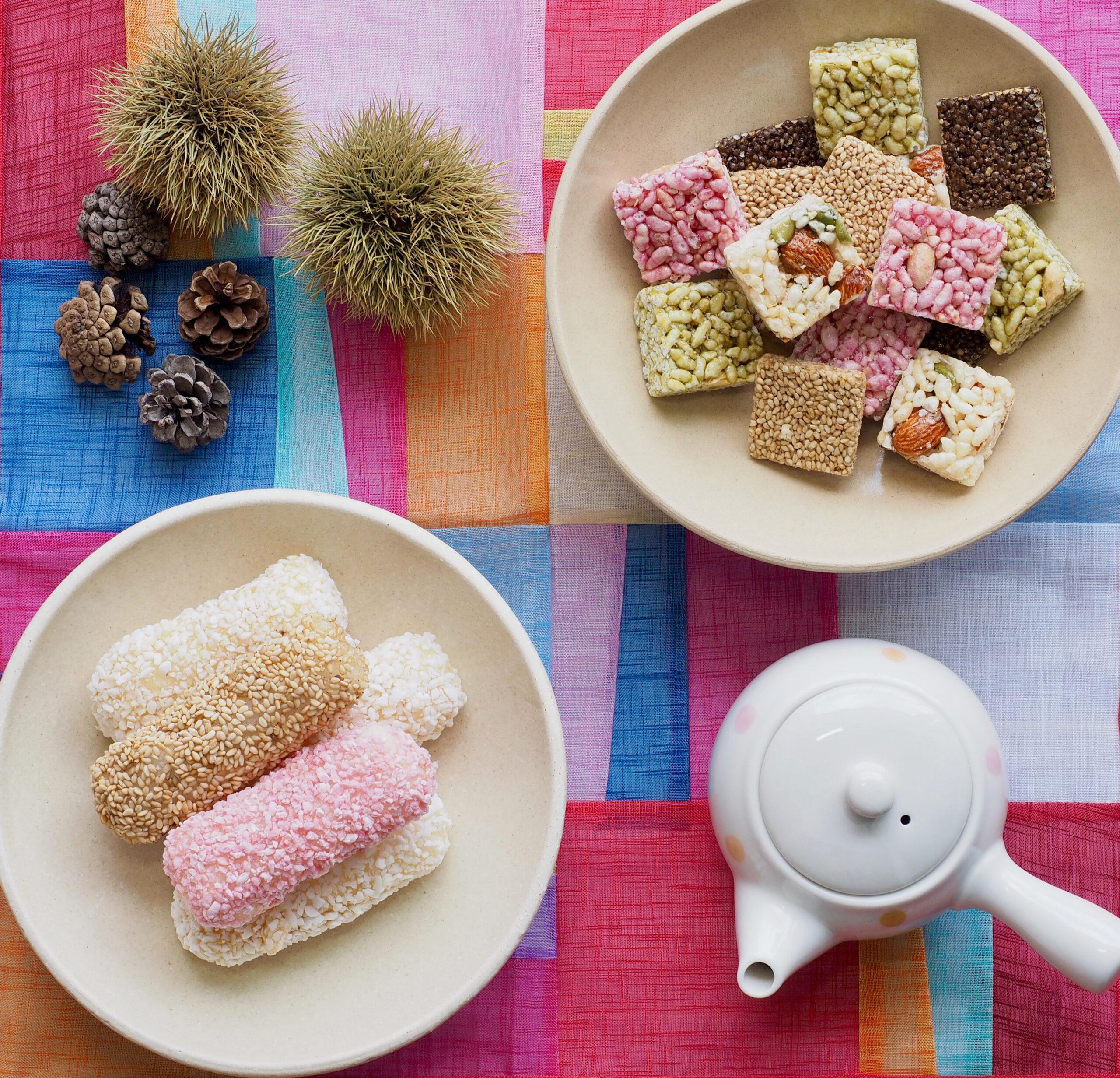 韓国の伝統菓子、いと趣深し…