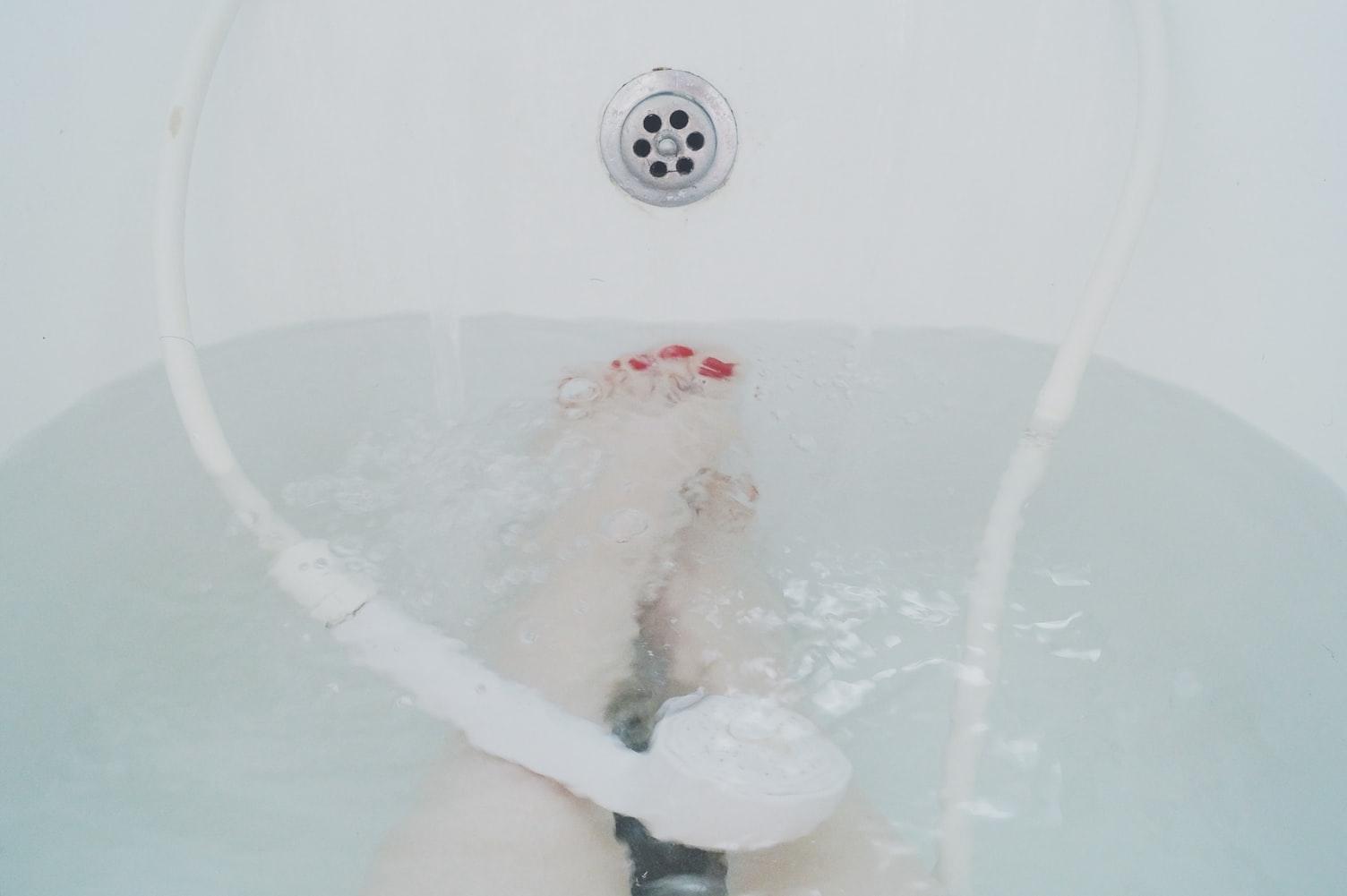 """04_お風呂に浸かるのは""""10分"""""""