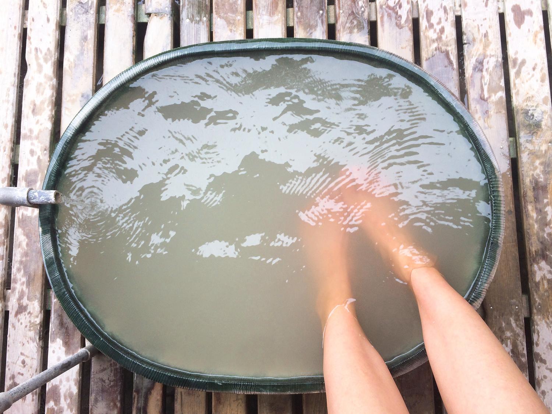 化粧水のようなお湯でお肌ツルツル!