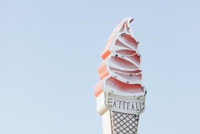 デザートに「ローカロリーアイス」