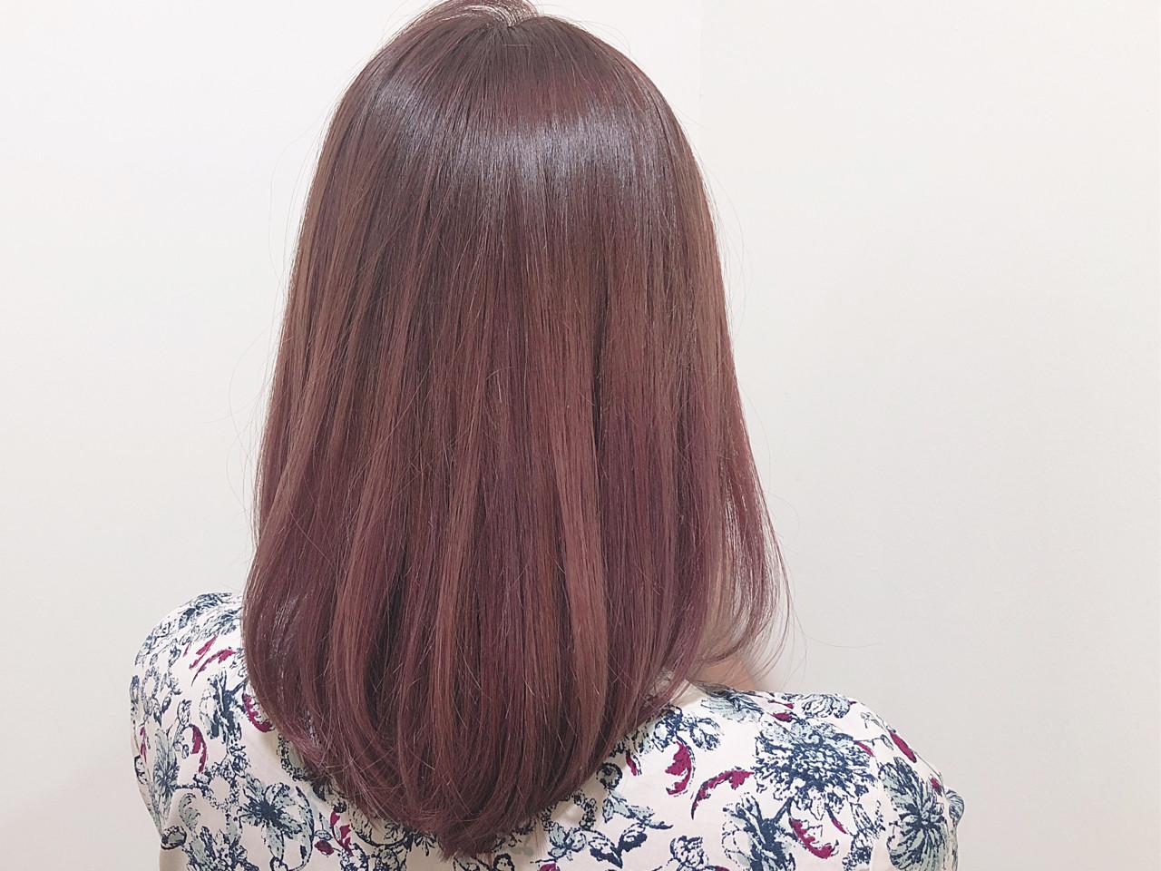ピンクアッシュってどんな色?