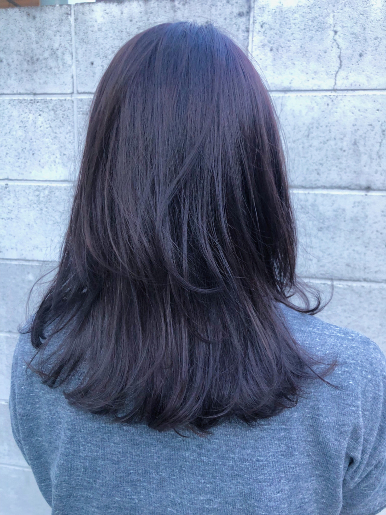 暗髪でも圧倒的透明感が欲しい!
