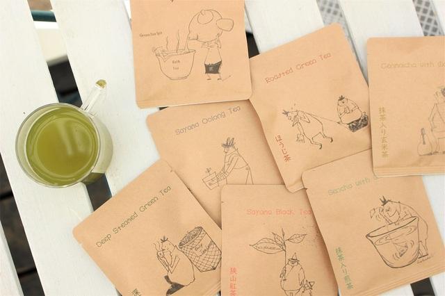 8種のお茶