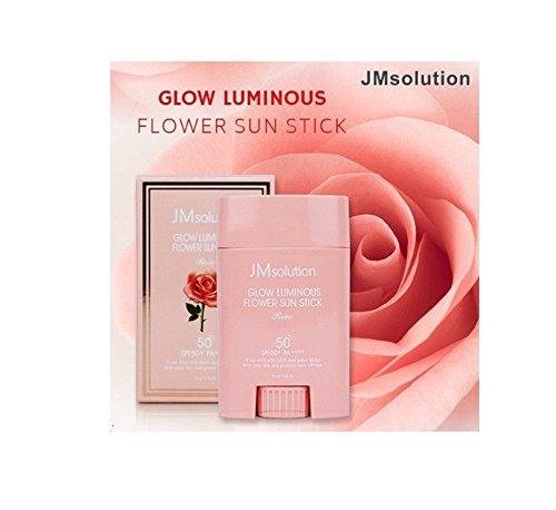 JM Solution Glow Luminous Flower Sun Stick Rose