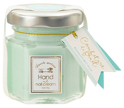 Sweets Maison(スイーツメゾン) コンフィチュール ド フリュイ ハンド&ネイルクリーム ブロッサム&シトラスの香り 35g