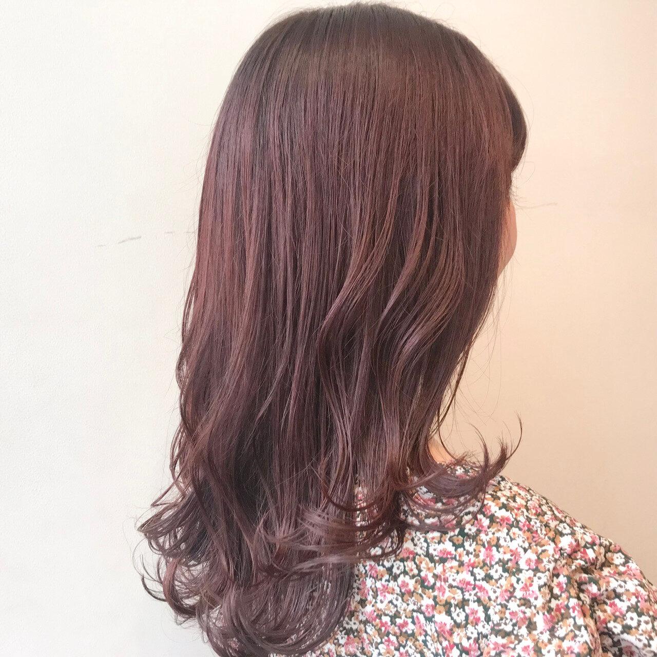 """儚げカラー""""ピンクアッシュ""""で髪色に透明感を。可愛すぎるヘアCatalogはこちら"""