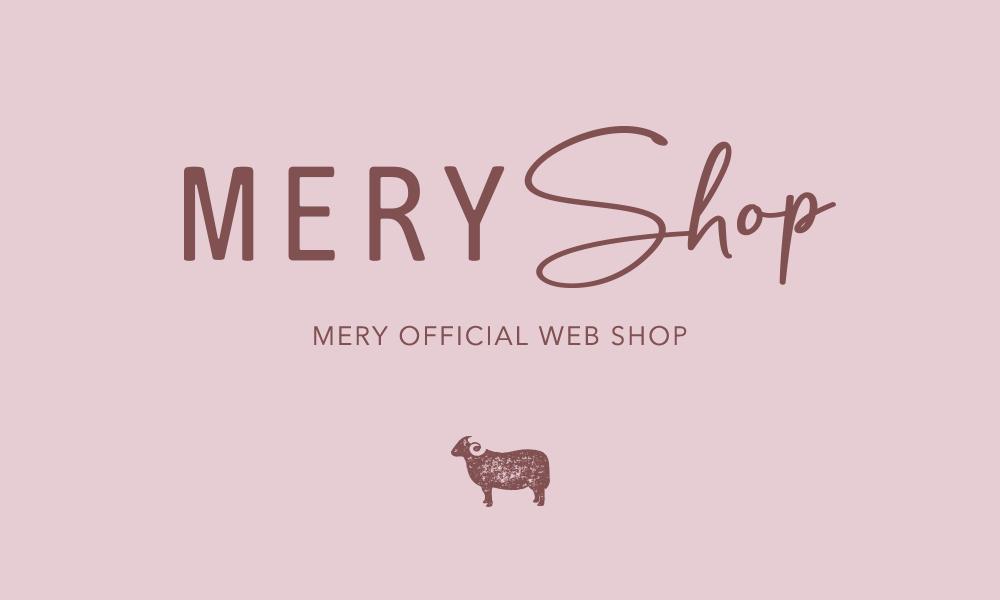 ココだけの限定アイテムが勢揃い。公式『MERY shop』がオープンします♡