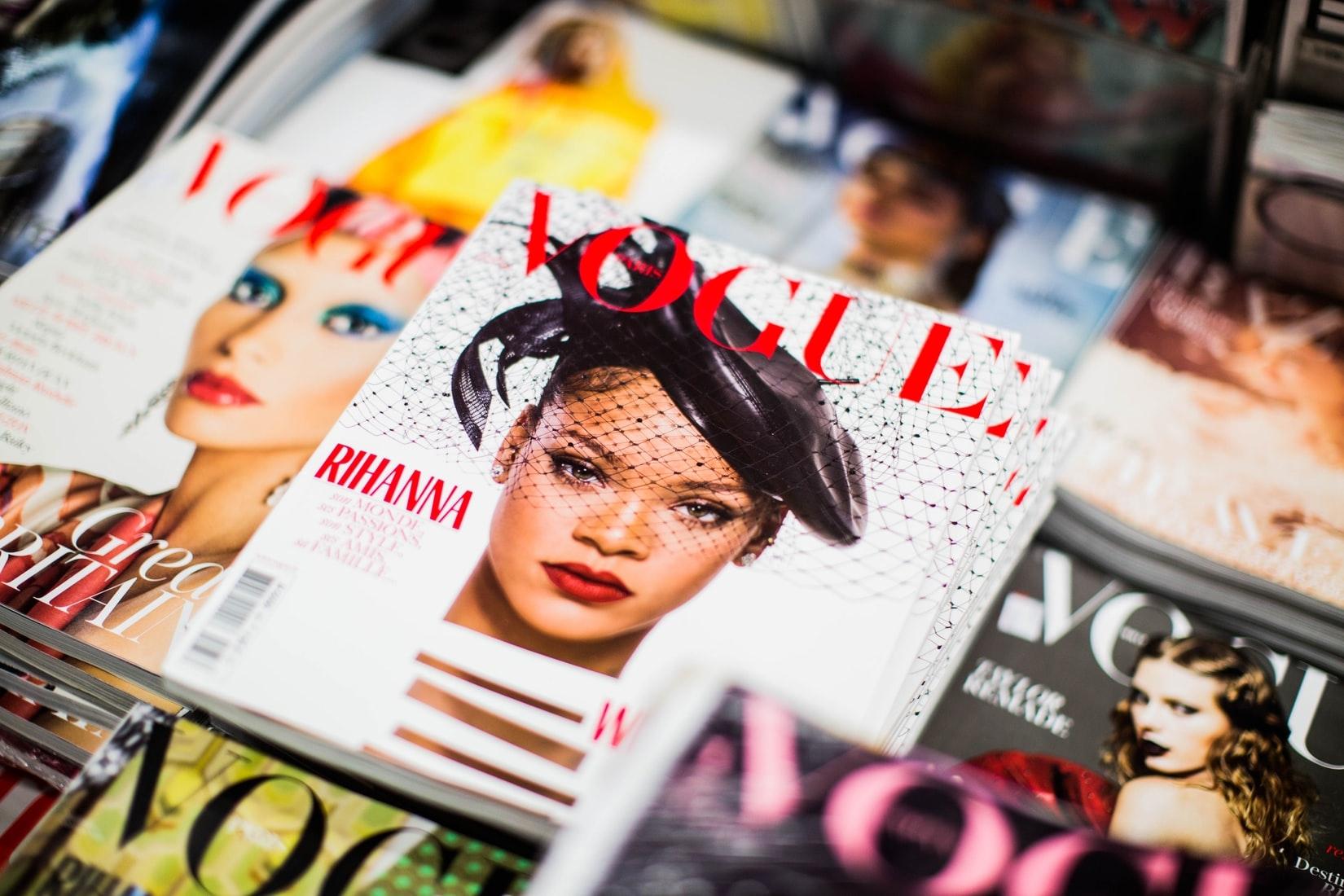 ファッション雑誌にこだわりたいな