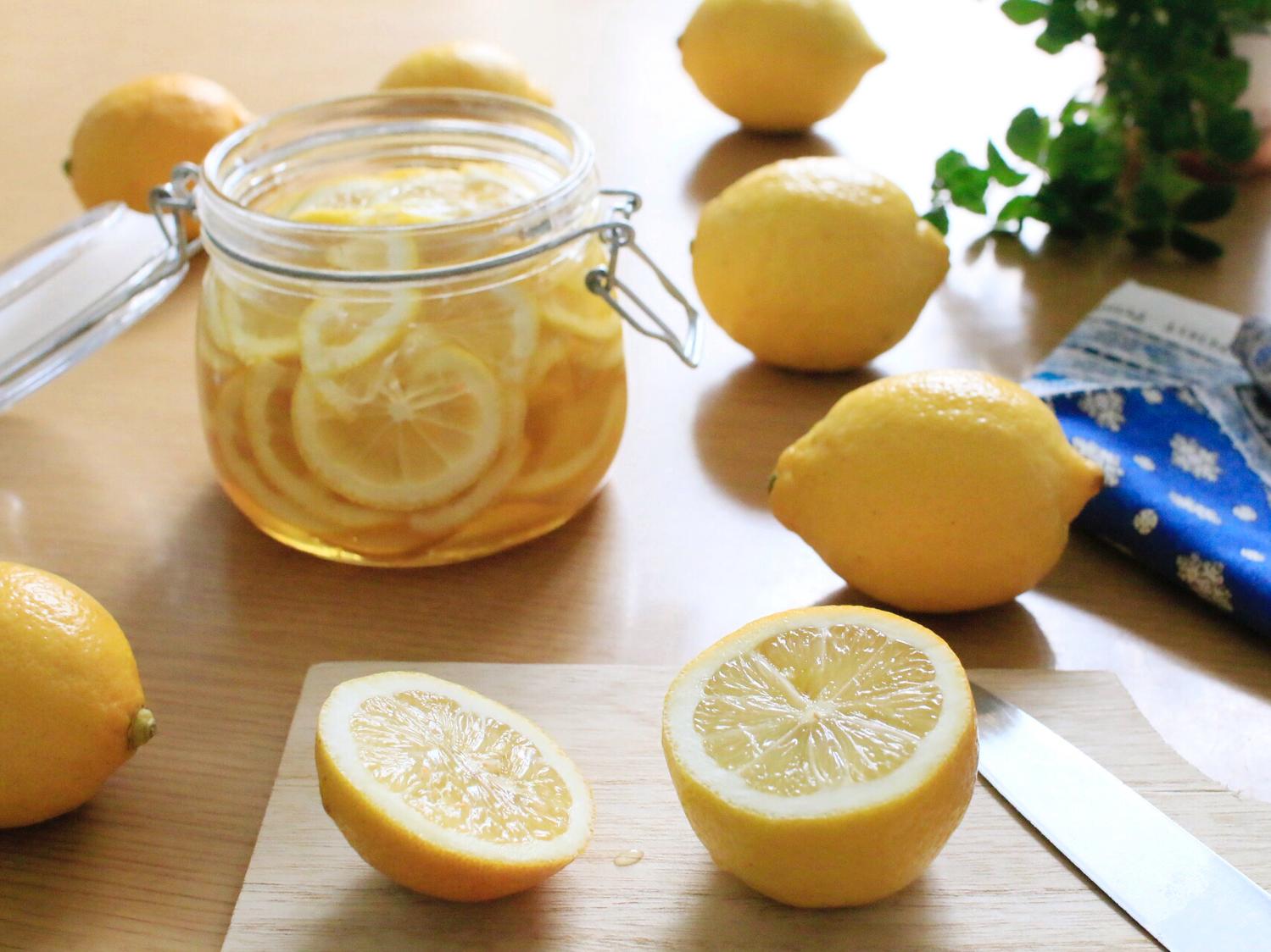 はちみつレモンを使ったアレンジレシピ