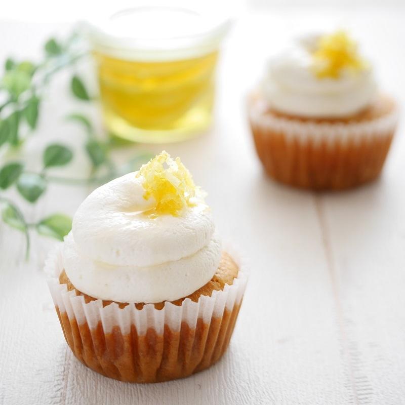 レモンづくしのはちみつレモンケーキ