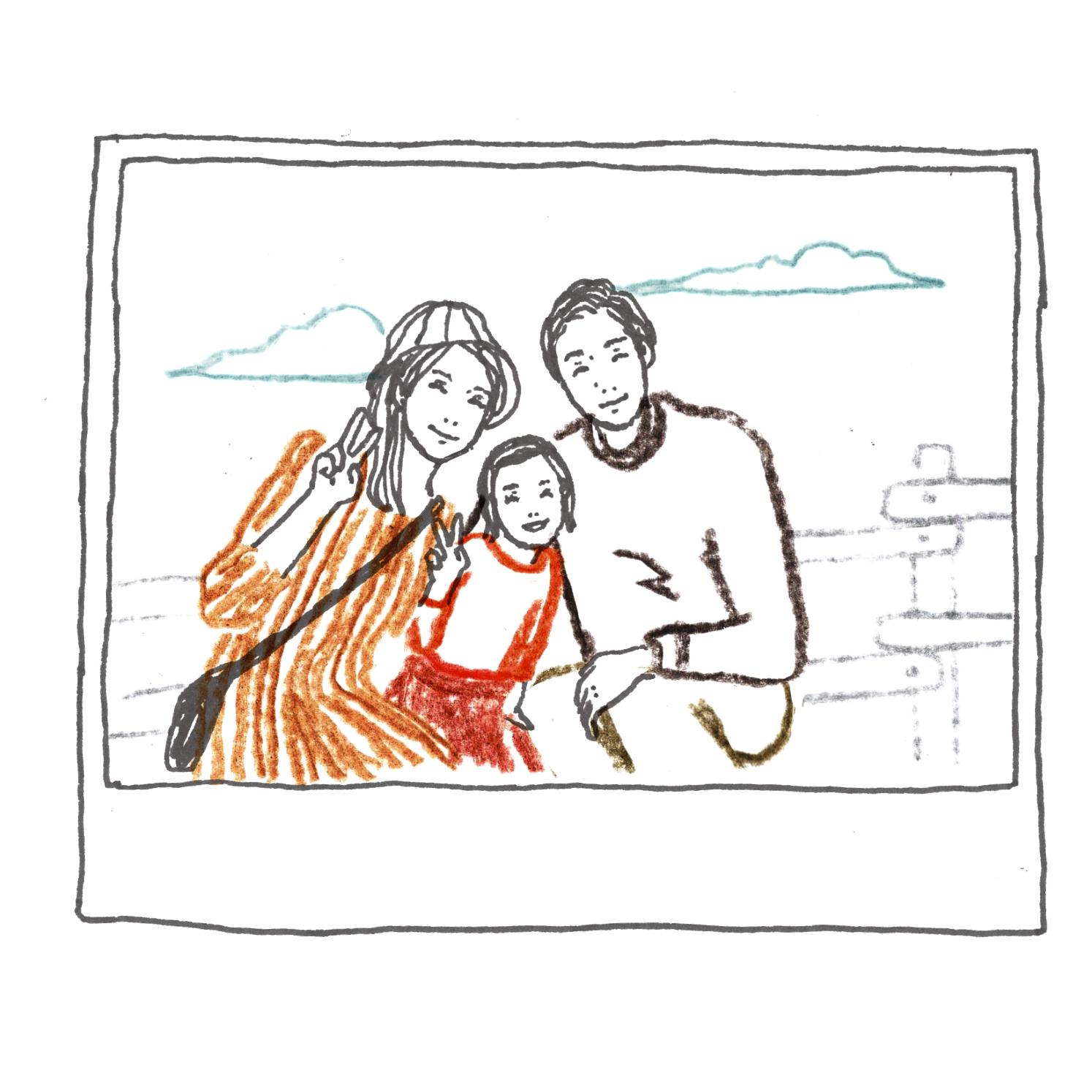 C:家族旅行