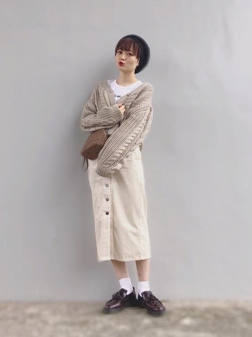 スカートstyleに合わせたい