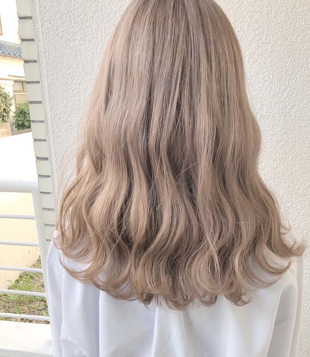 髪色もやわらか〜く