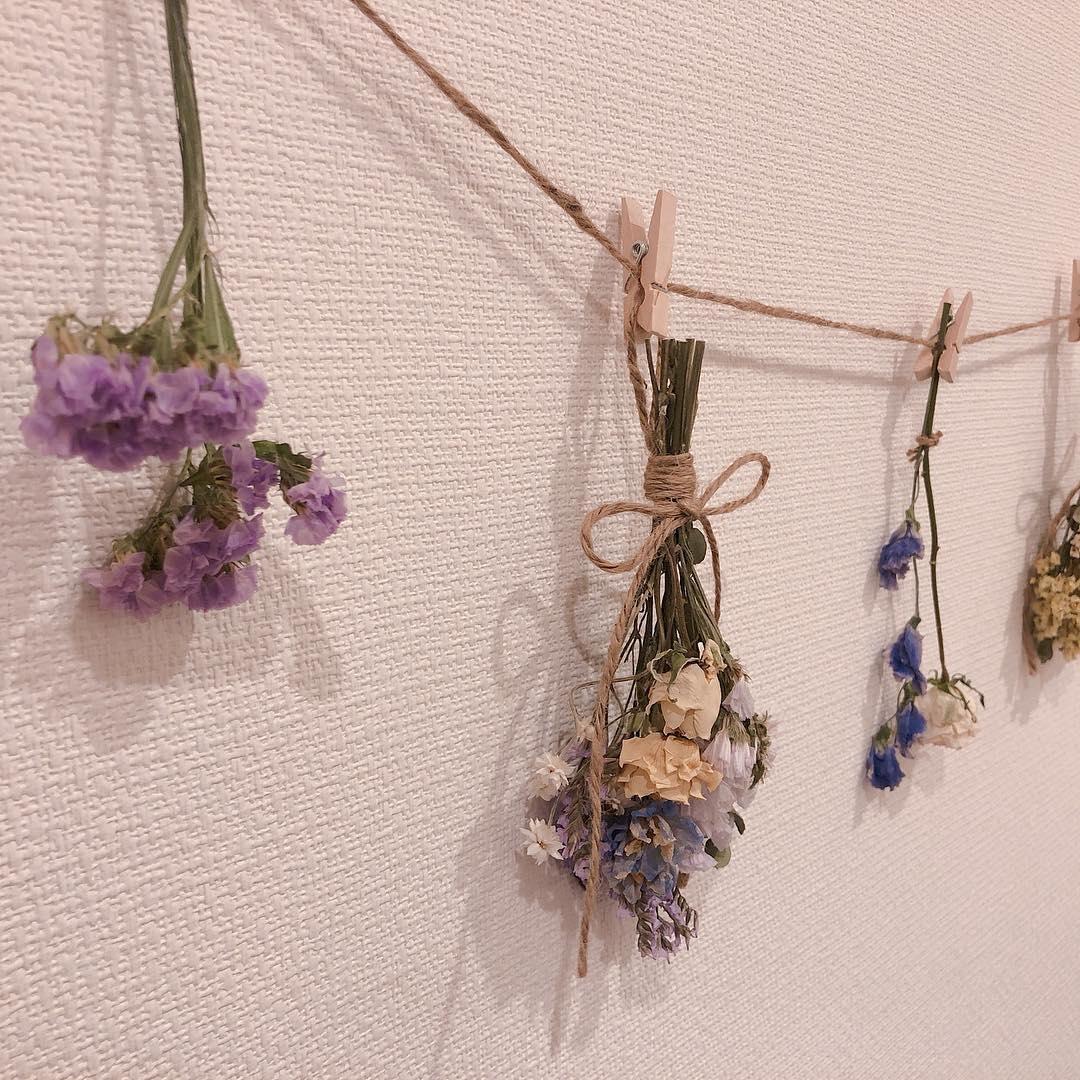 憧れはお花のある部屋