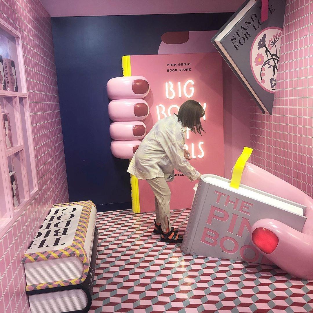 |ピンクでいっぱいの可愛いオブジェと