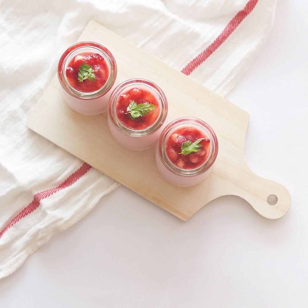 イチゴ好きな彼に「苺ヨーグルトムース」