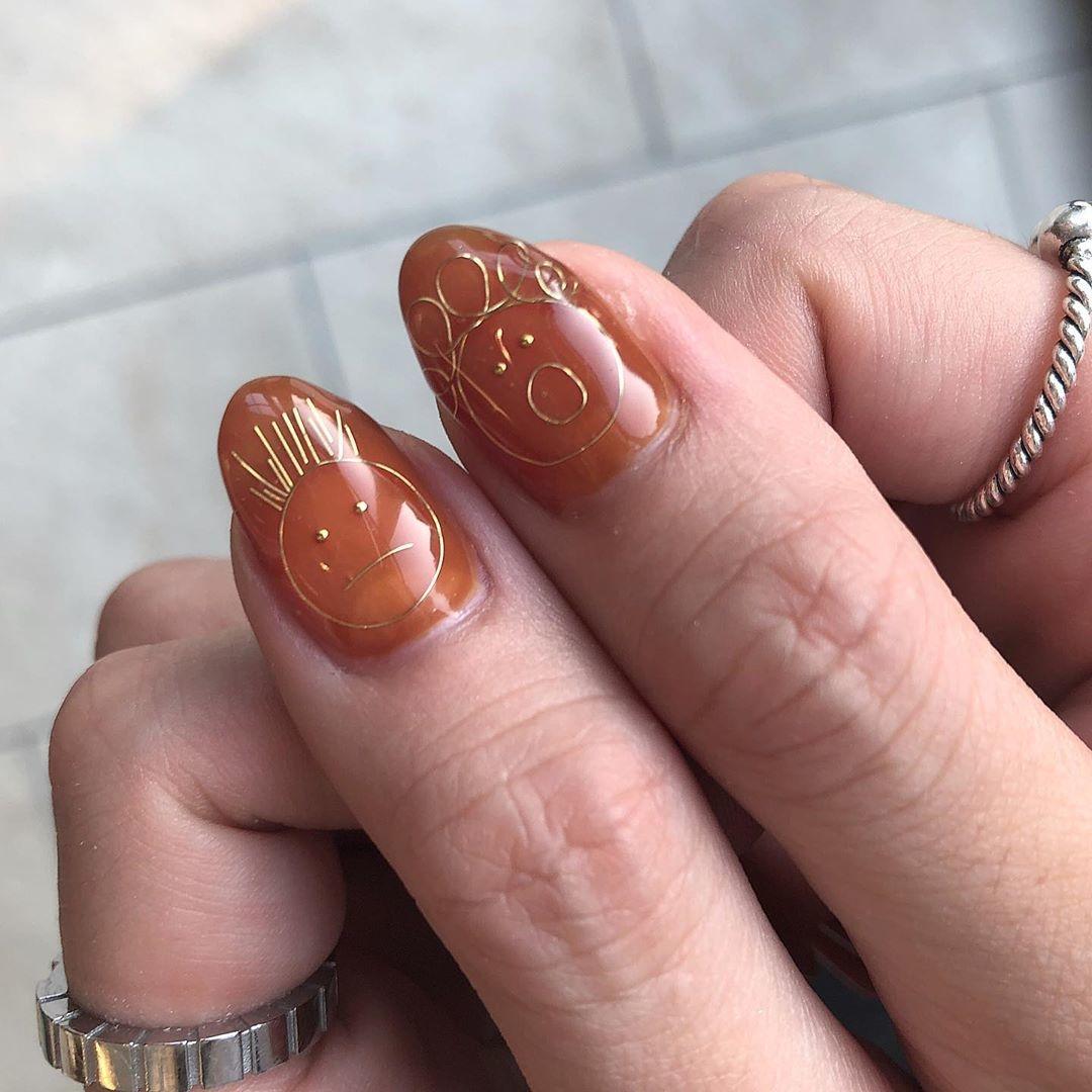 親指のワイヤーがトレードマークです♡