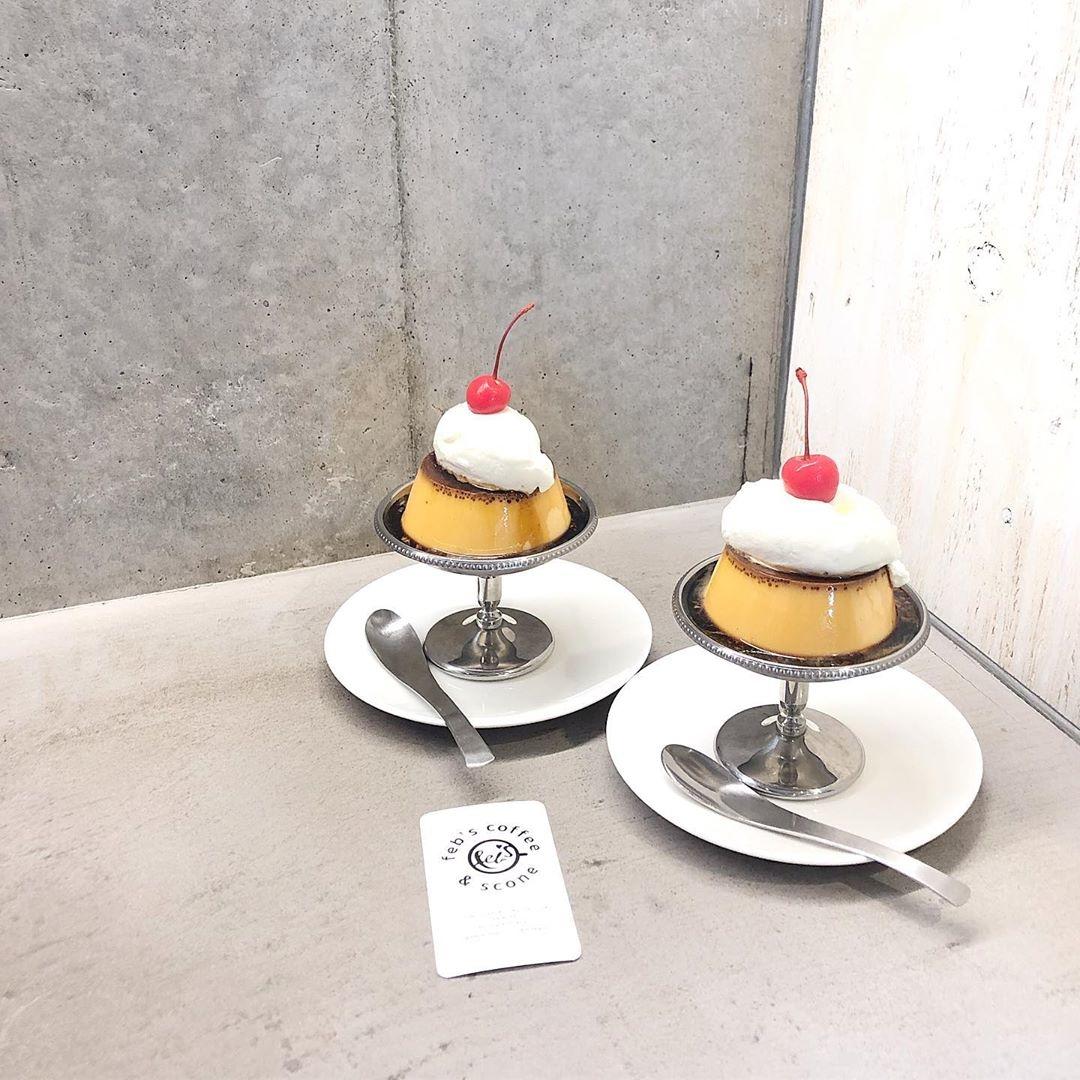 Feb's coffee&scone