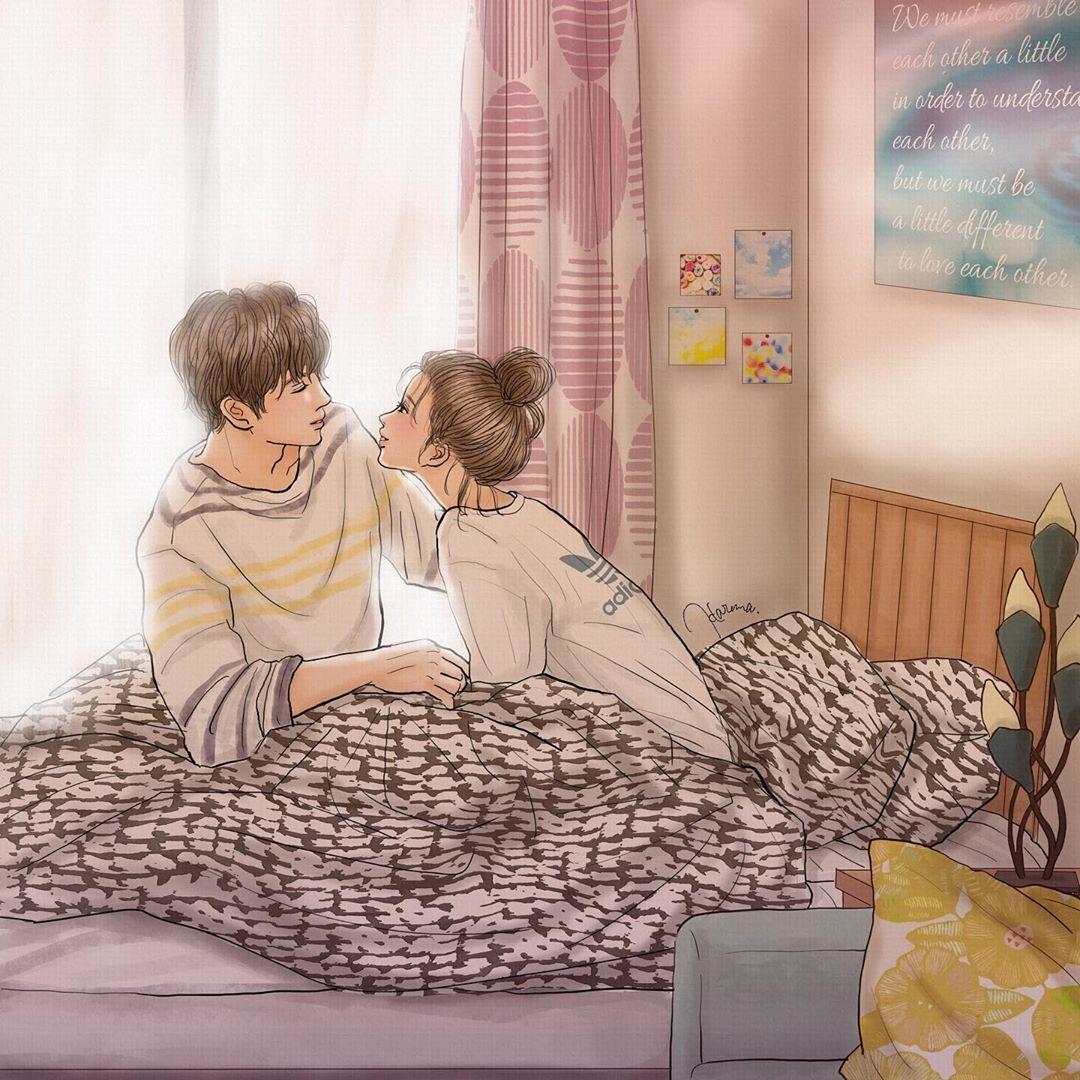今日はどの恋愛漫画を読もう?