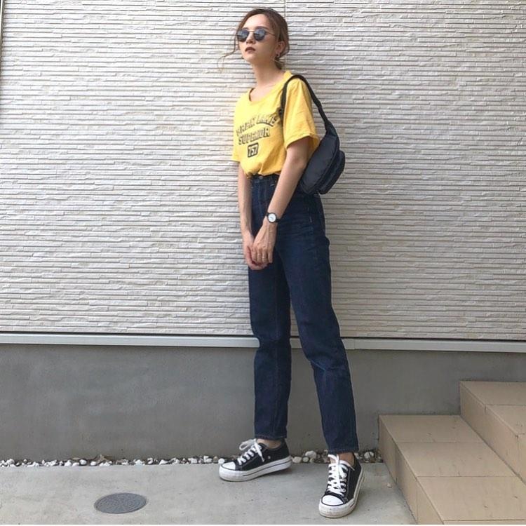 GUのジーンズでコーデの幅を広げよう♡