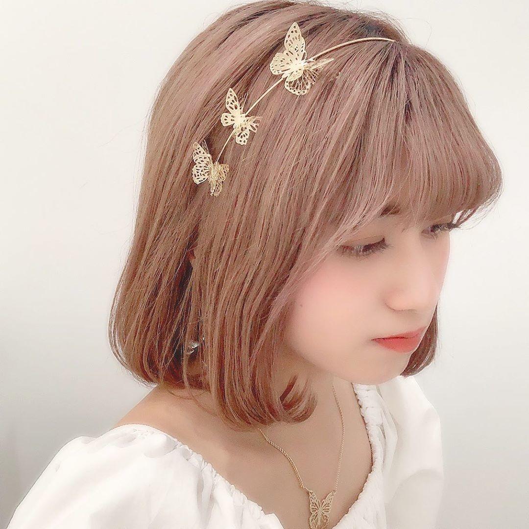 蝶の華やかさを身に纏って