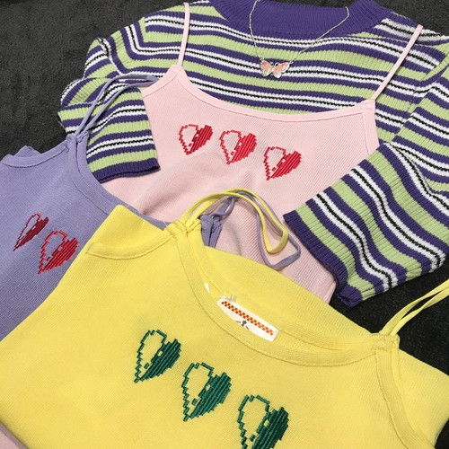 CAMISOLE HEART