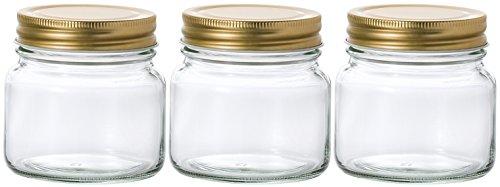 アデリア ガラス びん 保存瓶 3個セット