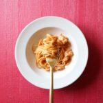 赤海老のトマトクリームパスタ