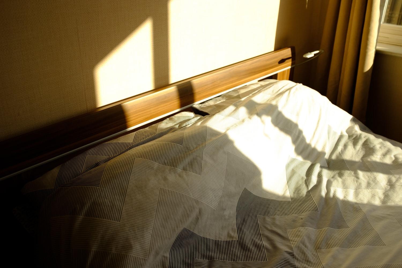 3)朝起きる時間を一定に