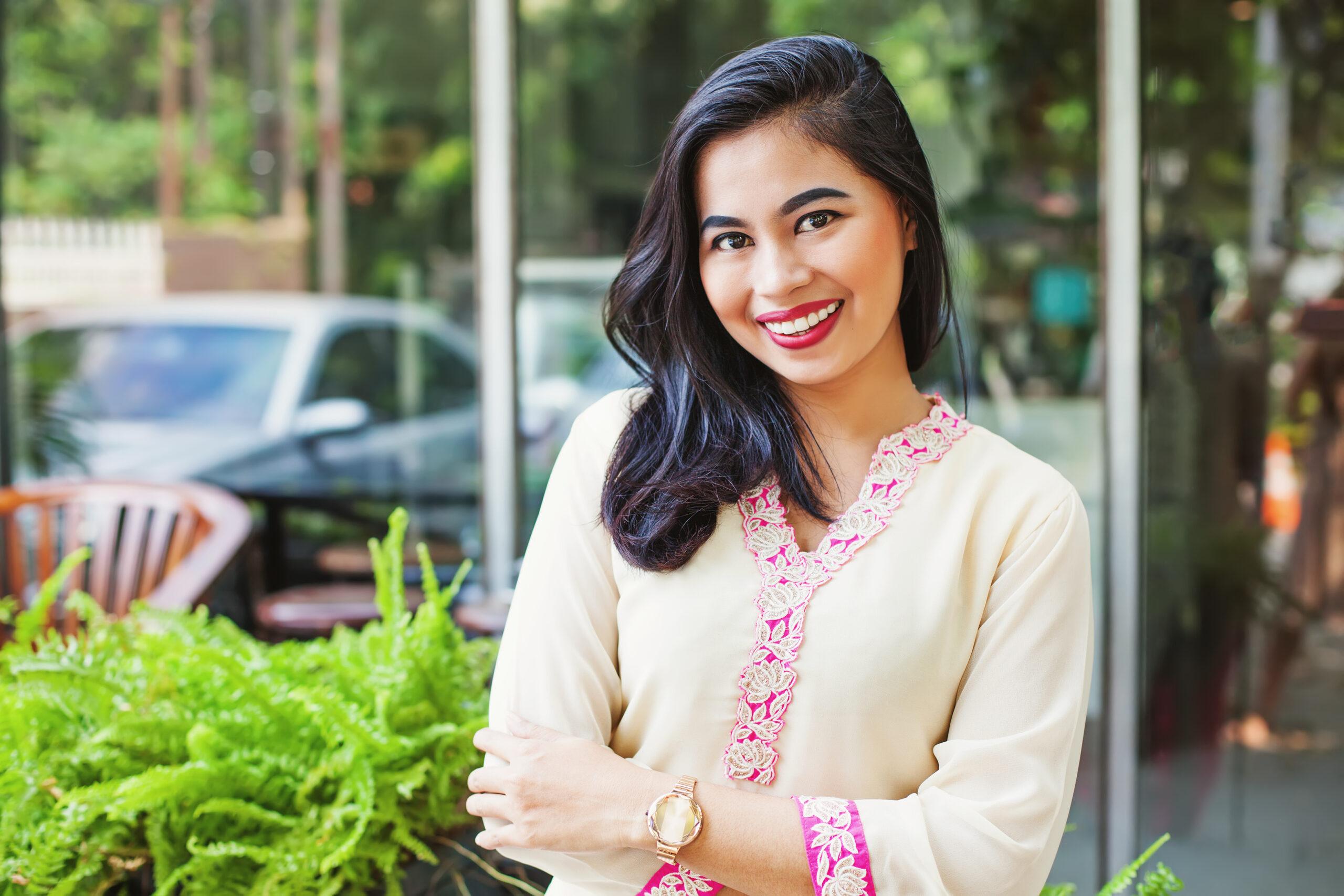 インドの伝統服から着想を得たトップス