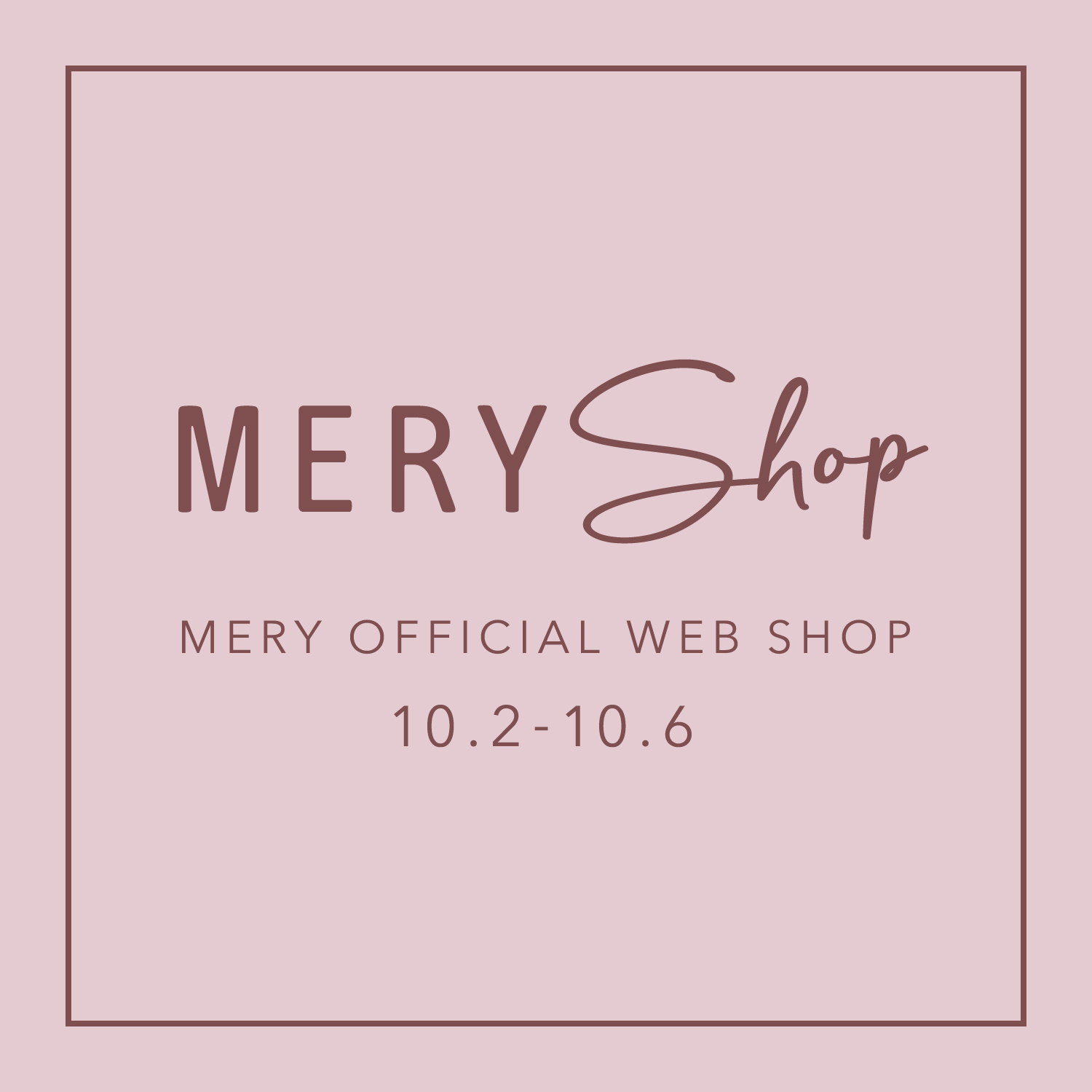 Welcome to『MERY shop』♡