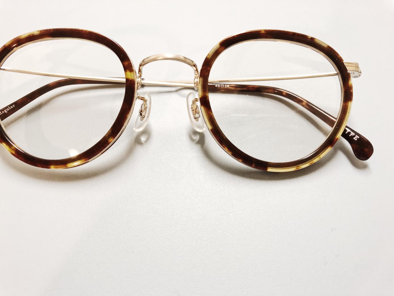 似合っていない伊達メガネは微妙かも