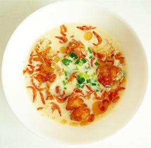 鹹豆漿 シェントウジャン 台湾豆乳スープ