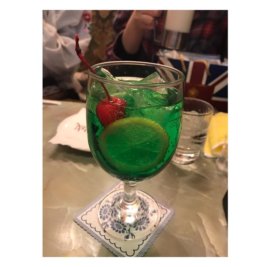 珈琲 王城のソーダ水