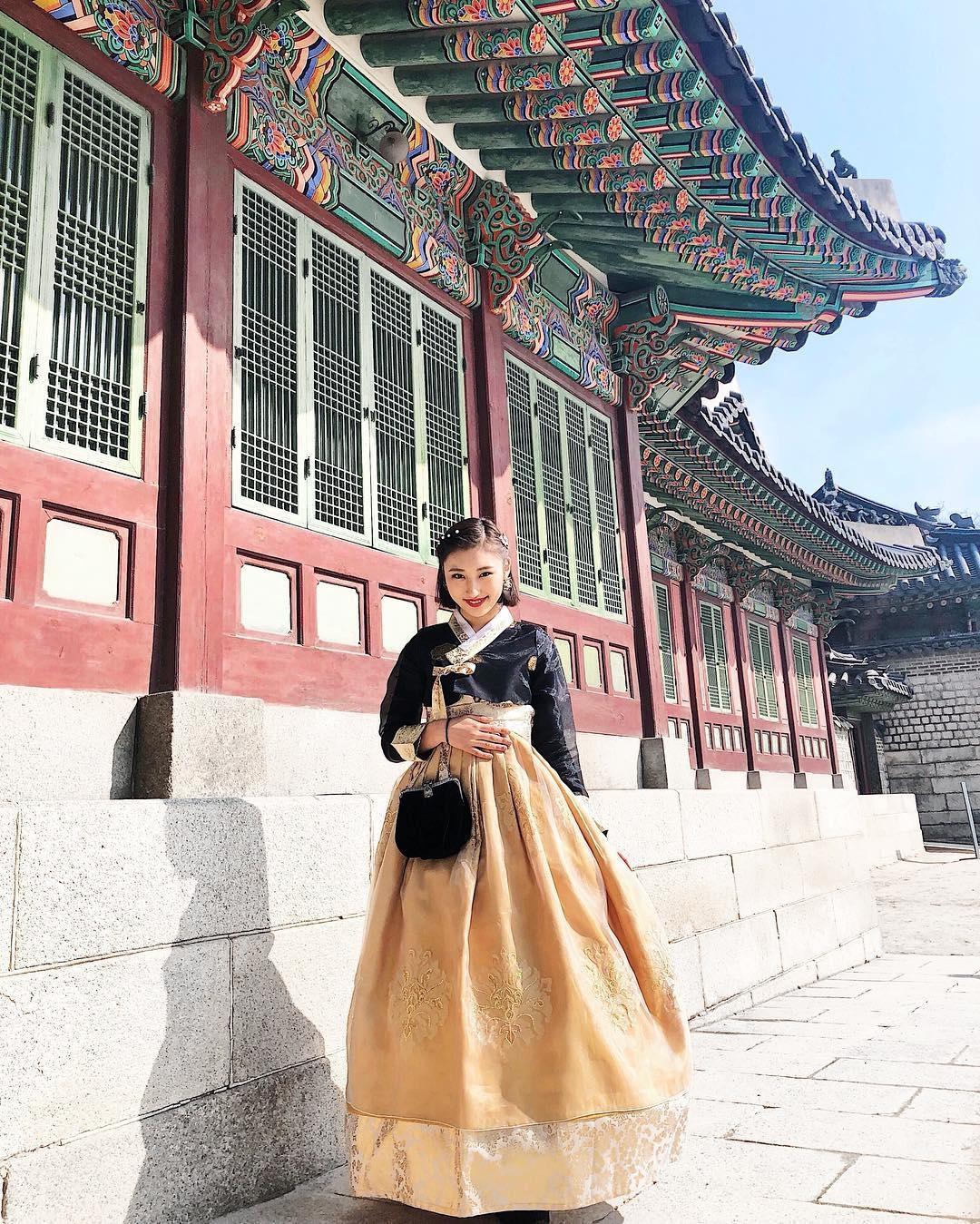 韓国旅行1番の目的はもちろんチマチョゴリ