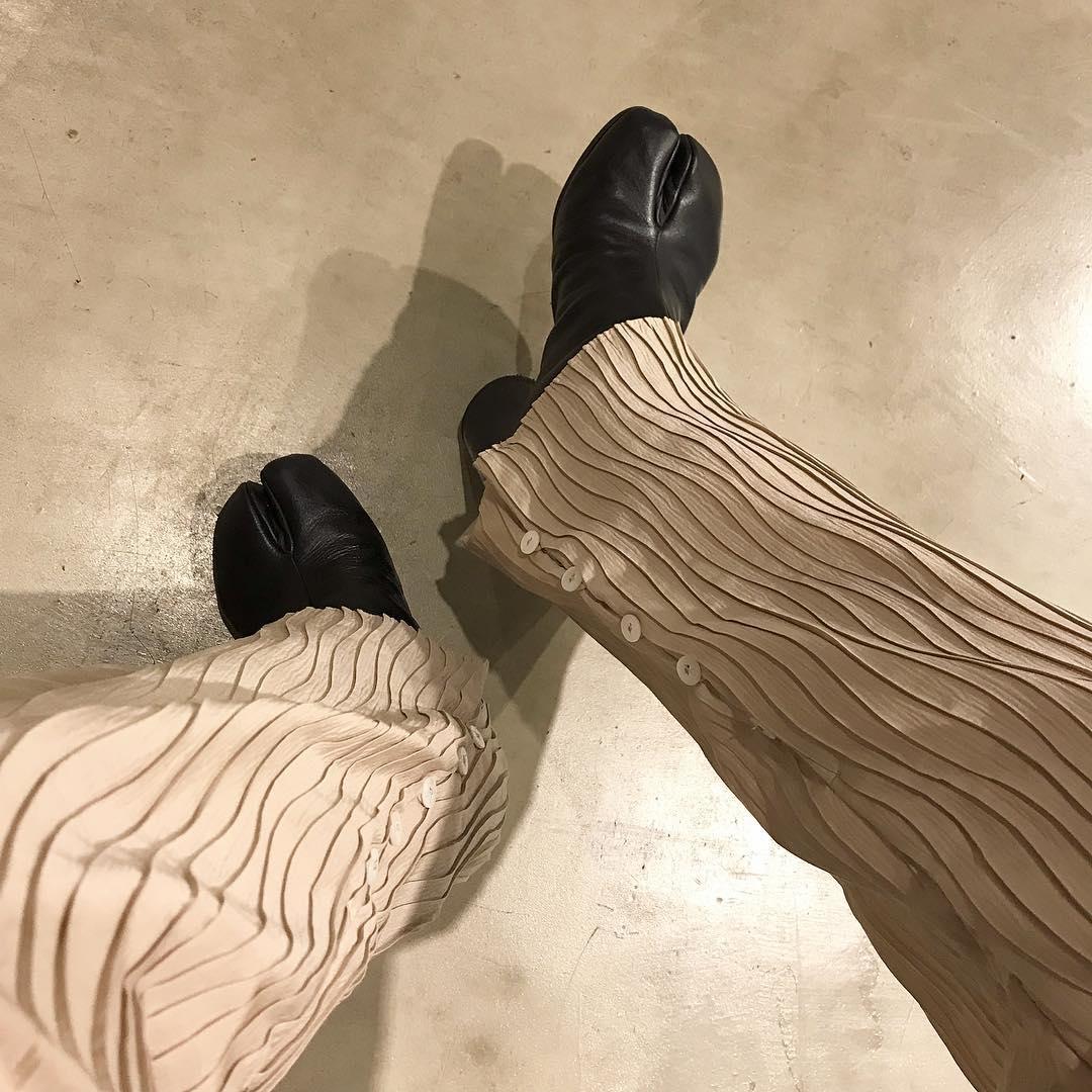 期待2:履いている人が多い