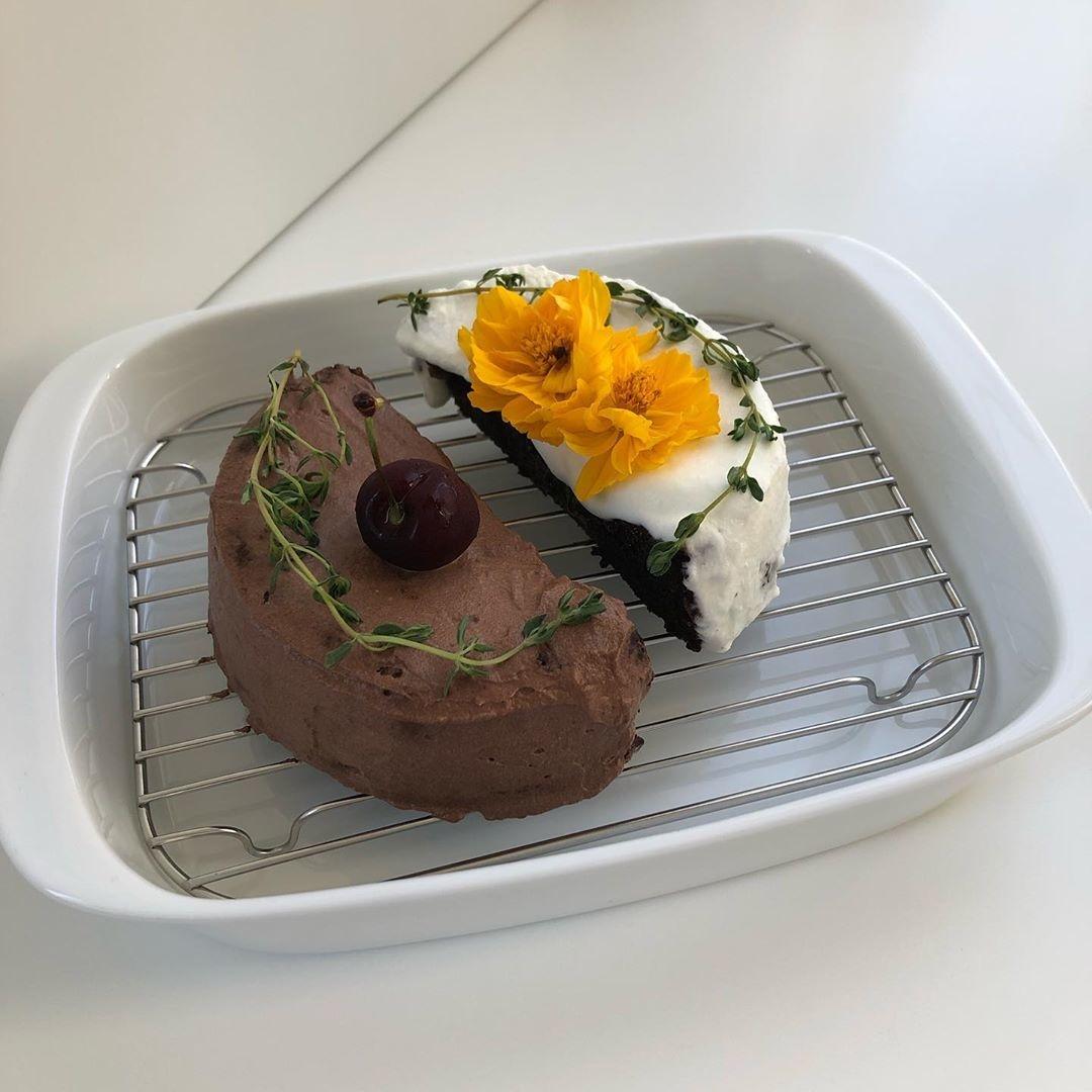 ::推しの誕生日にケーキの投稿::
