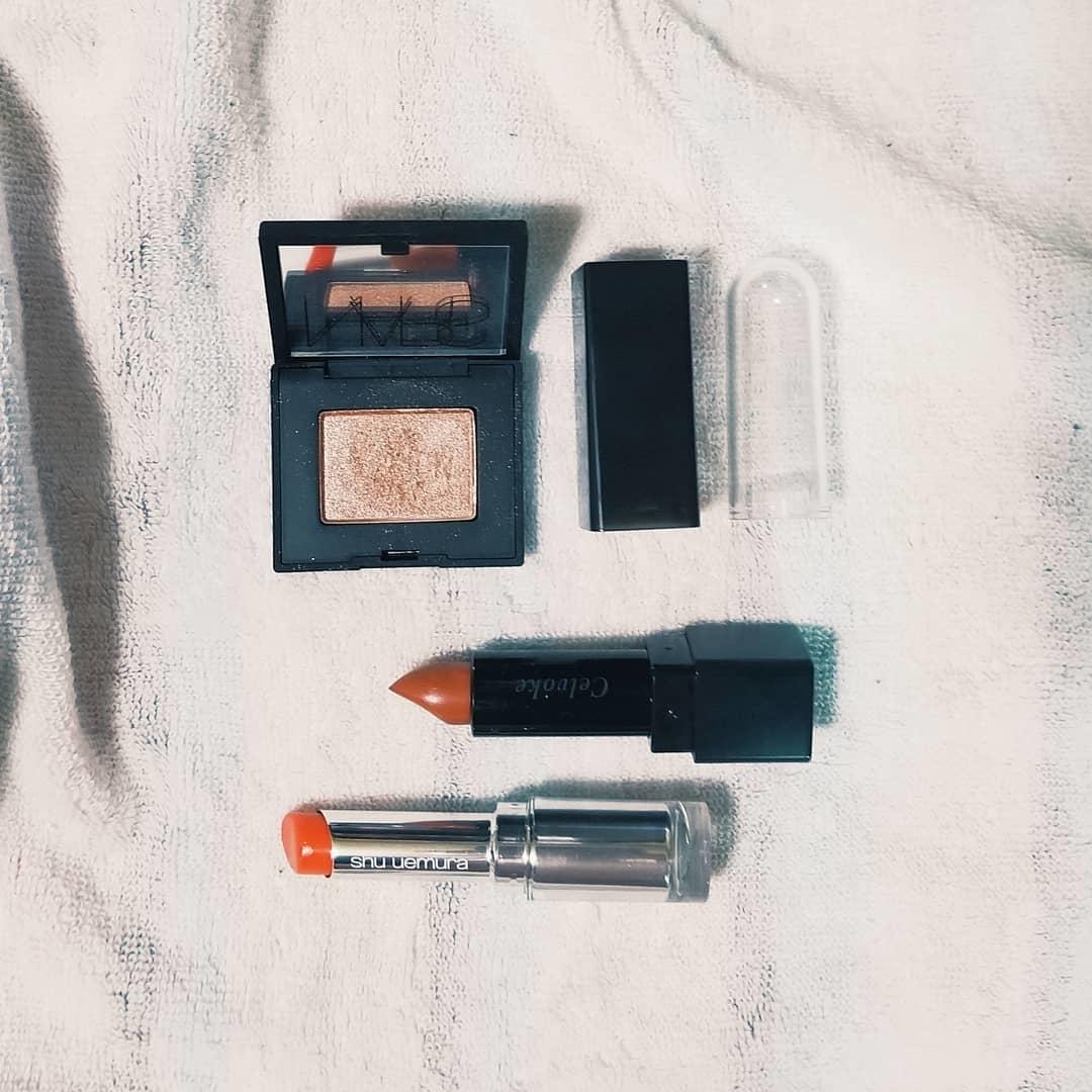 |terracotta×beige * makeup