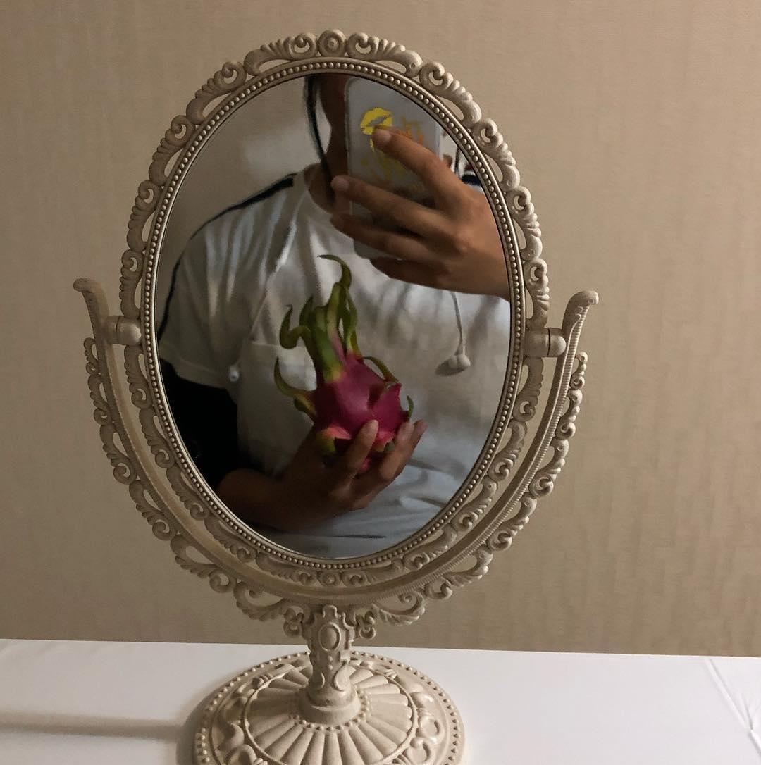 check:会う前に鏡を見る