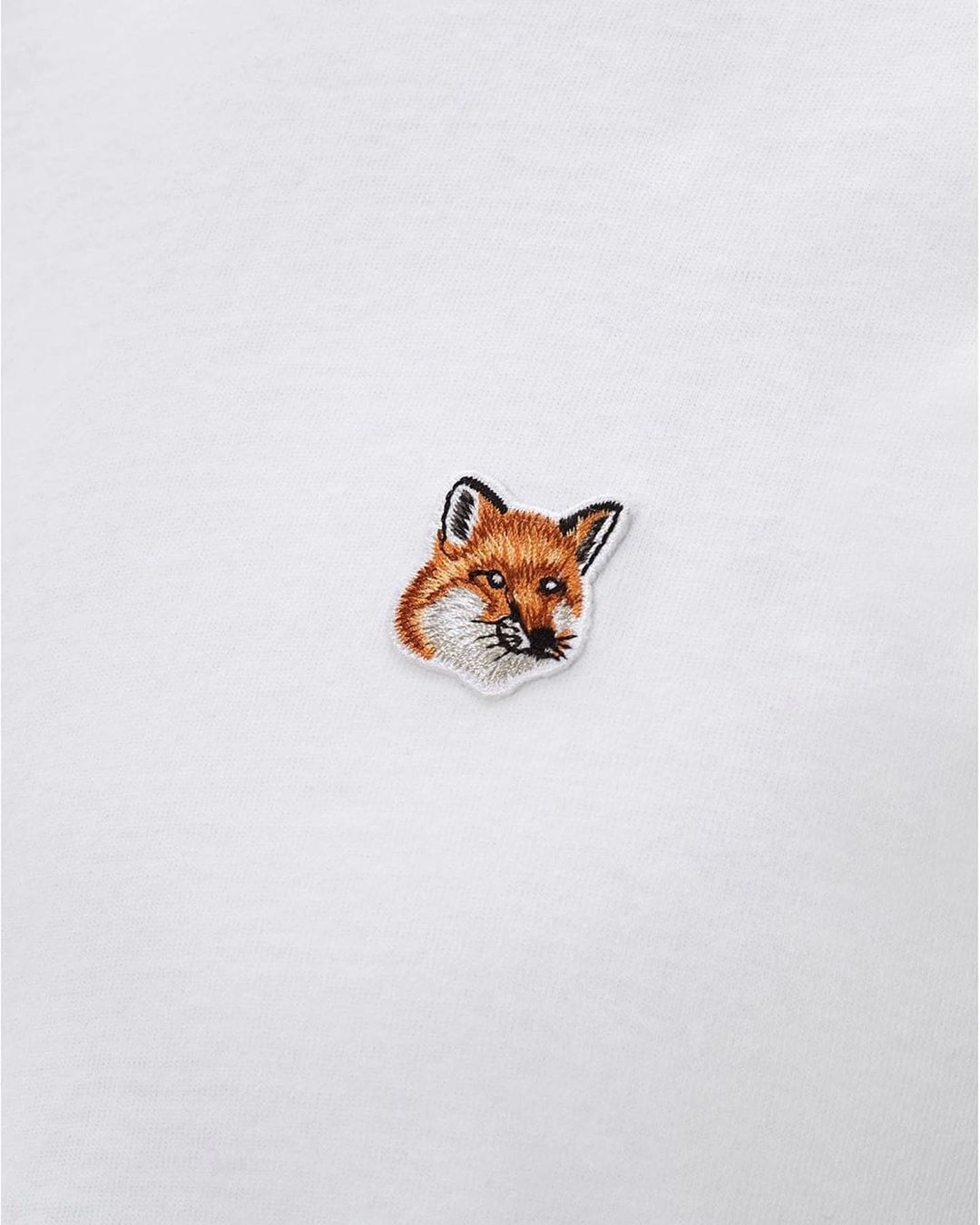 TEE-SHIRT FOX HEAD PATCH