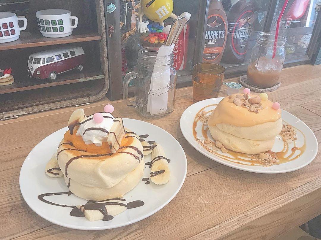 『plumpy pancakes』でパクッ