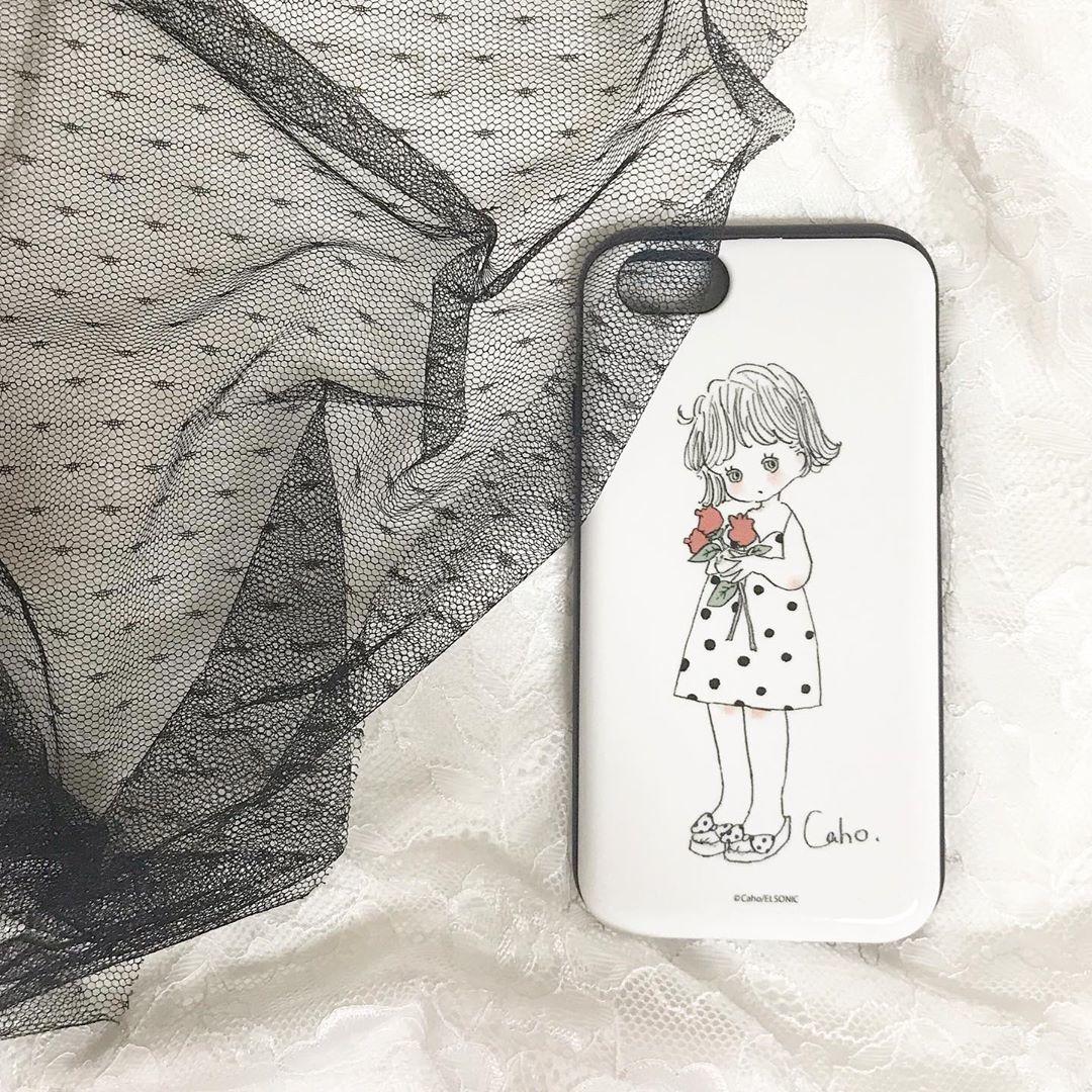 cuteさ200%の「Caho」×iPhoneケース
