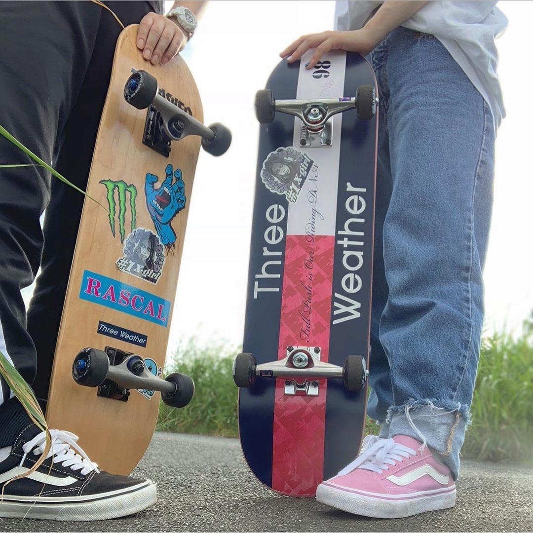 STEP 1:まずはMYスケートボードをゲット