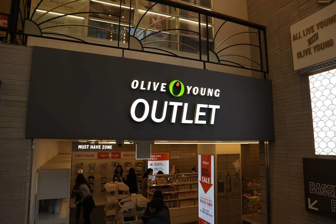 1▷OLIVE YOUNG @韓国