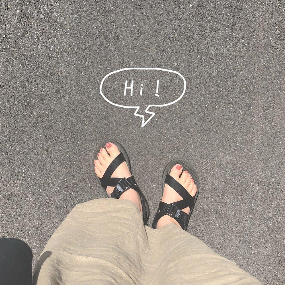 その日の身長はその日の靴次第?