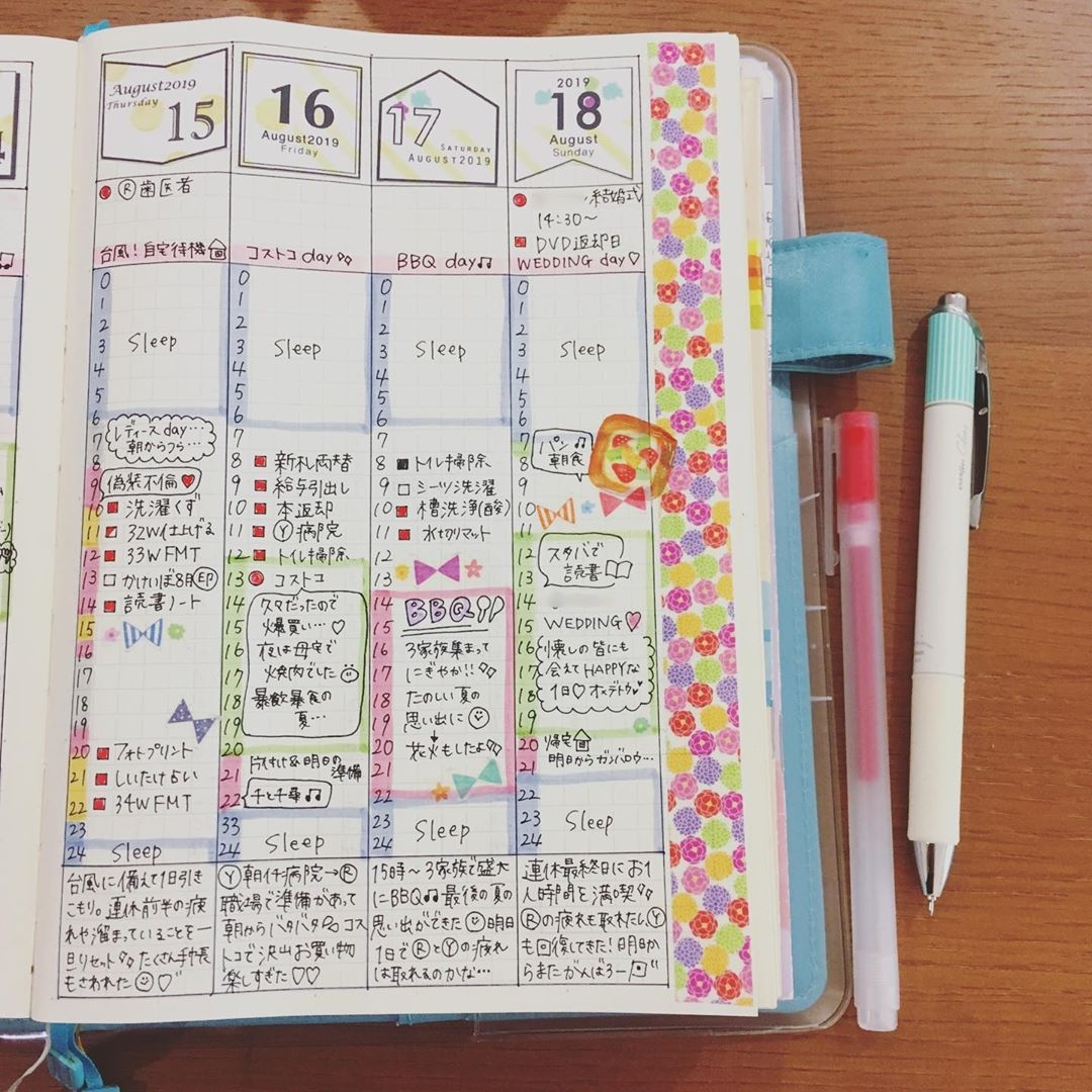 weekly page