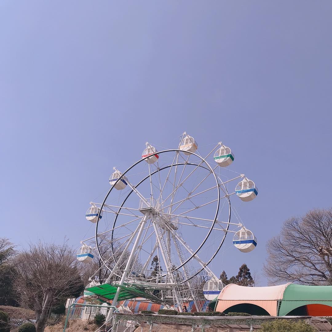 #桐生が岡遊園地 でレトロな映えデート